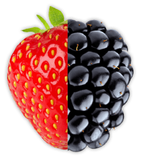strawberry blackberry
