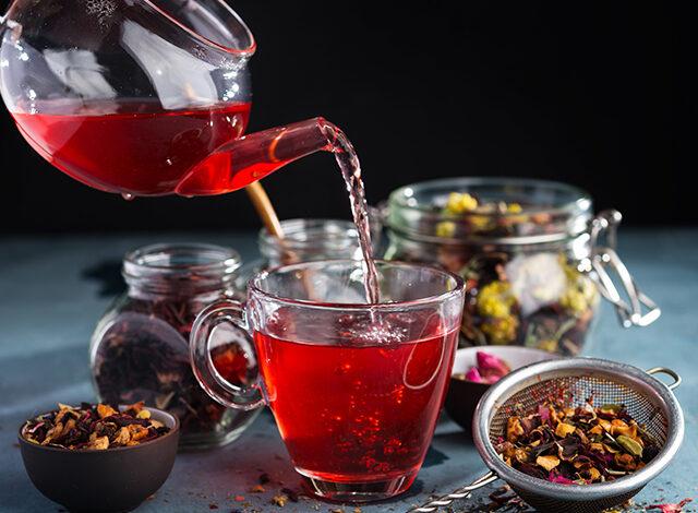 red herbal tea natural flavor