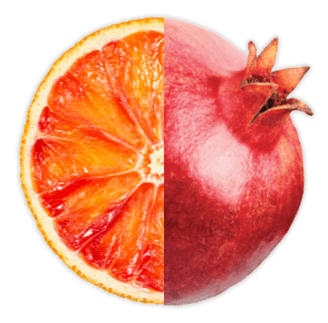 blood orange pomegranate